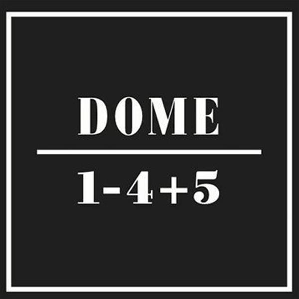 Copertina Disco Vinile 33 giri 1-4+5 [Cofanetto 5xLP]  di Dome