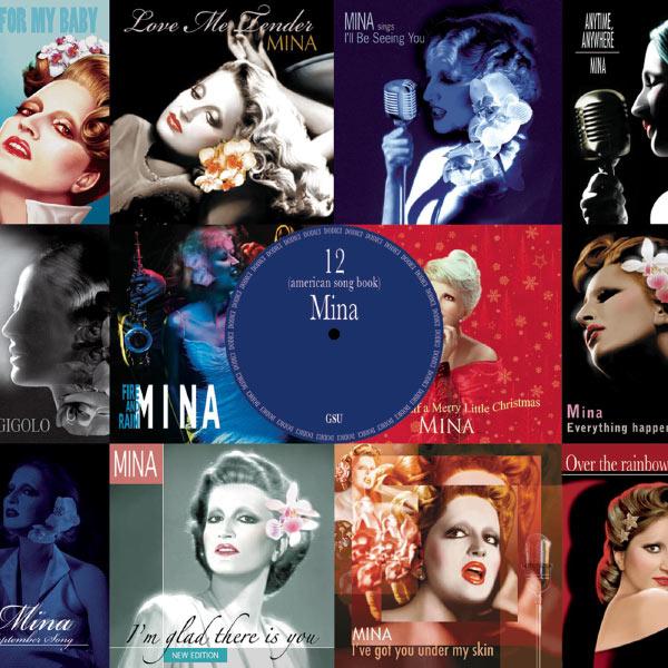 Copertina Disco Vinile 33 giri 12 (american song book) di Mina