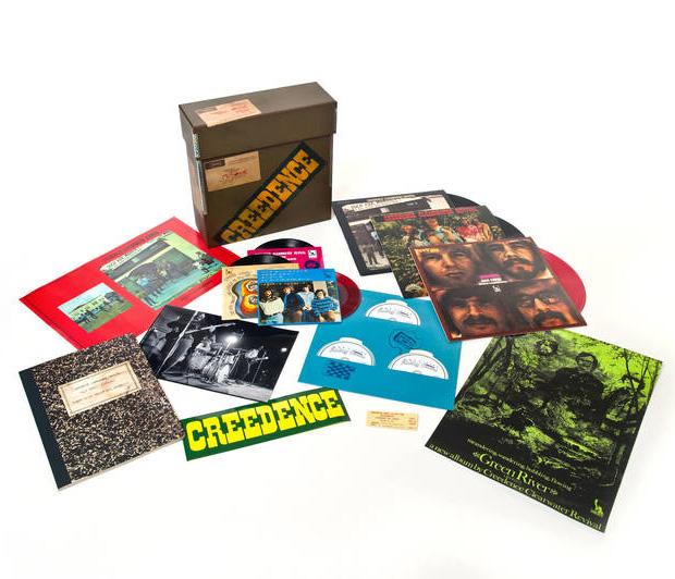 Copertina Disco Vinile 33 giri 1969 Box Set [Cofanetto 3xLP 3x45 Giri 3xCD] di Creedence Clearwater Revival