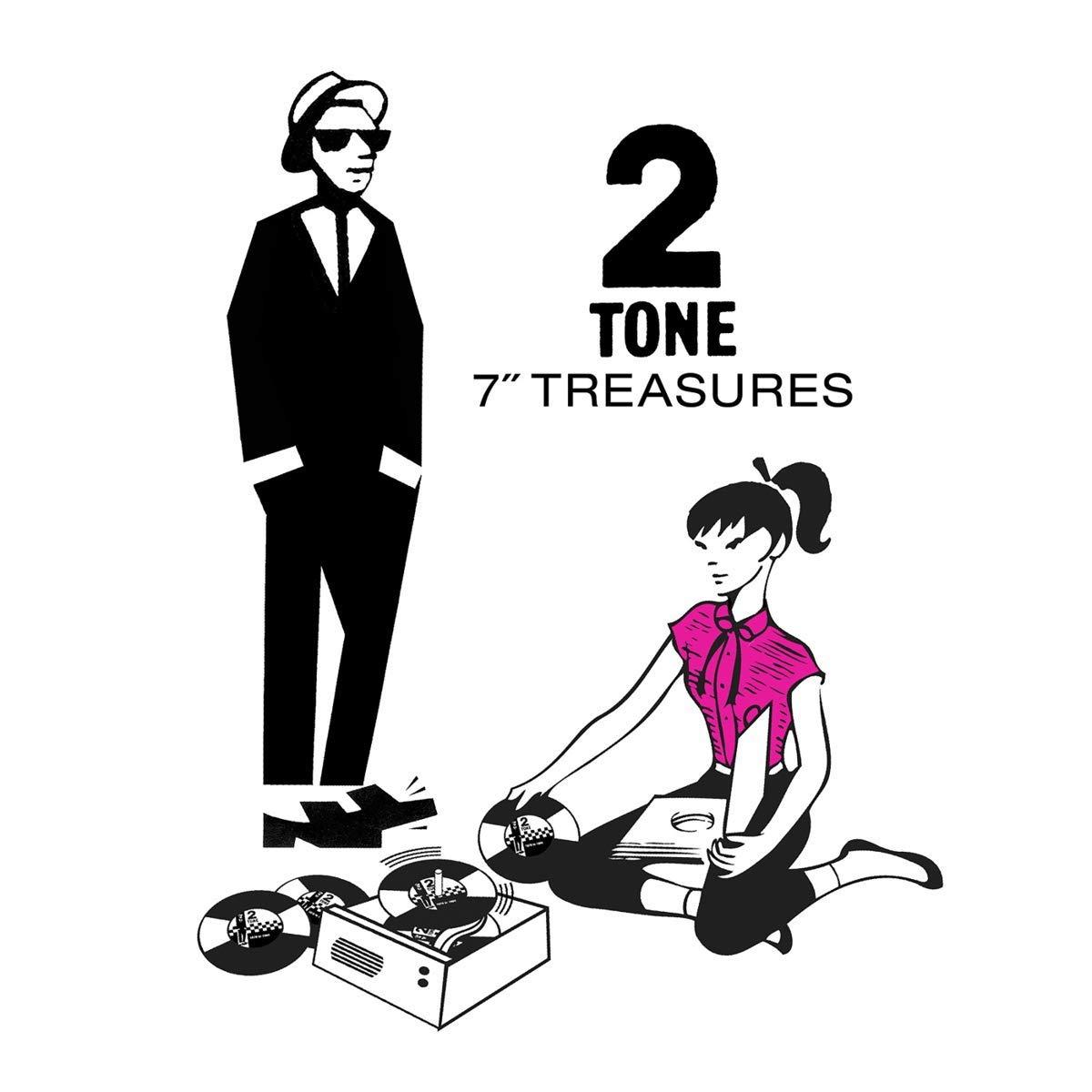 Copertina Vinile 33 giri 2 Tone 7″ Treasures [Cofanetto 12x45 Giri] di Vari Artisti