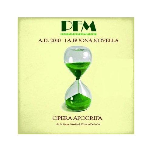 Copertina Disco Vinile 33 giri A.D. 2010 La buona novella [2 LP] di PFM (Premiata Forneria Marconi)