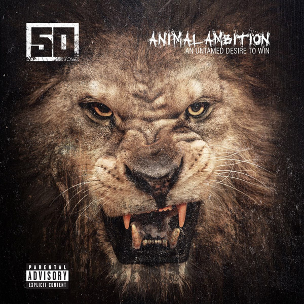 Copertina Disco Vinile 33 giri Animal Ambition [2 LP] di 50 Cent
