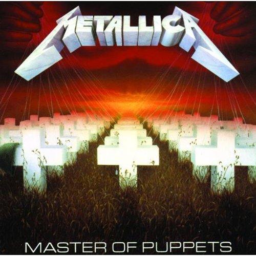 Copertina Disco Vinile 33 giri Master Of Puppets di Metallica