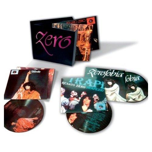 Copertina Disco Vinile 33 giri 6 Zero  [Cofanetto 6xLP] di Renato Zero
