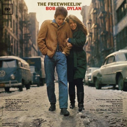 Copertina Disco Vinile 33 giri The Freewheelin di Bob Dylan