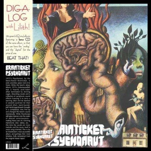 Copertina Disco Vinile 33 giri  Psychonaut di Brainticket