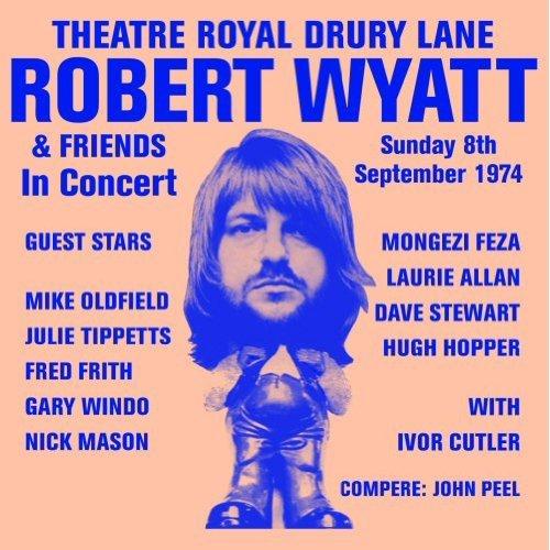 Copertina Disco Vinile 33 giri  Theatre Royal Drury Lane di Robert Wyatt