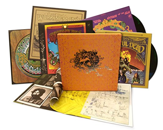 Copertina Disco Vinile 33 giri Warner Bros Studio Albums Box (Cofanetto 5xLP) di Grateful Dead