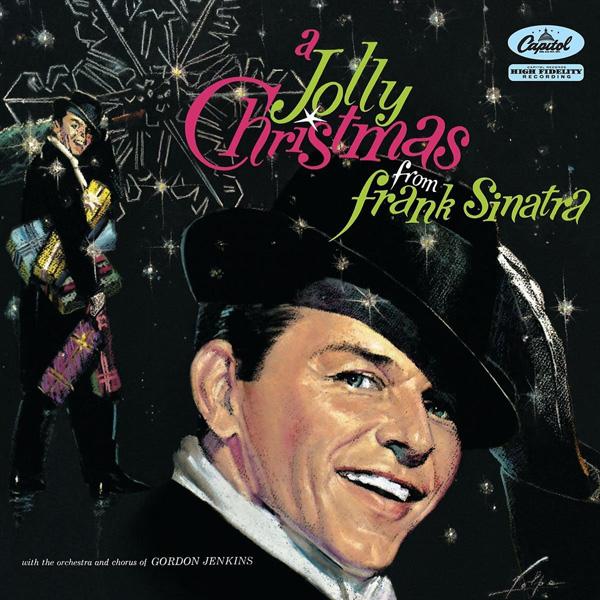 Copertina Disco Vinile 33 giri A Jolly Christmas from Frank Sinatra di Frank Sinatra