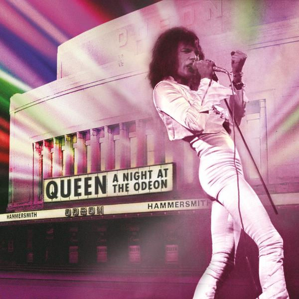 Copertina Disco Vinile 33 giri A Night At The Odeon | Hammersmith 1975 [2 LP] di Queen
