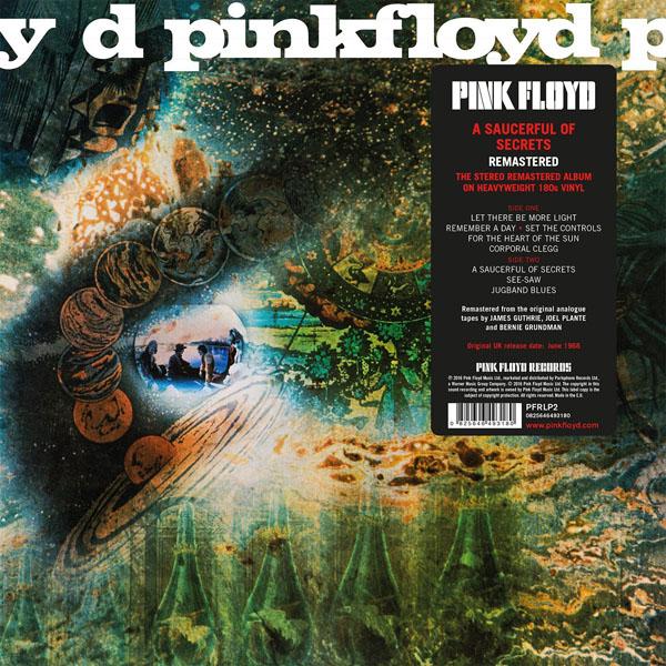Copertina Disco Vinile 33 giri A Saucerful of Secrets di Pink Floyd