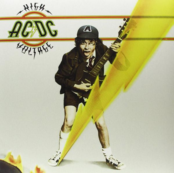 Copertina Disco Vinile 33 giri High Voltage di AC/DC