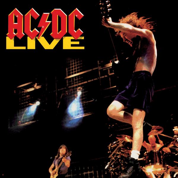 Copertina Disco Vinile 33 giri Live [2 LP] di AC/DC