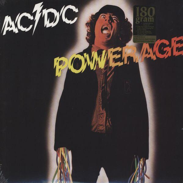 Copertina Disco Vinile 33 giri Powerage  di AC/DC