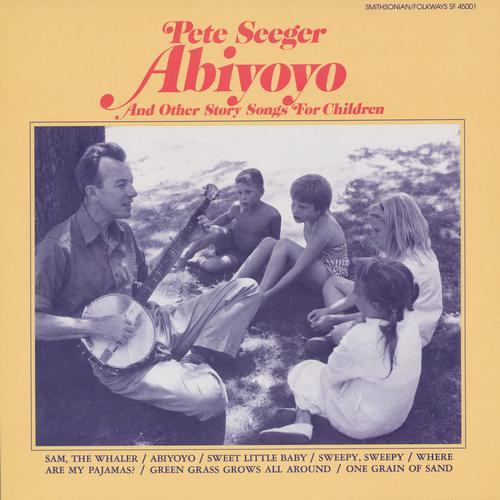 Copertina Disco Vinile 33 giri Abiyoyo and Other Story Songs for Children di Pete Seeger