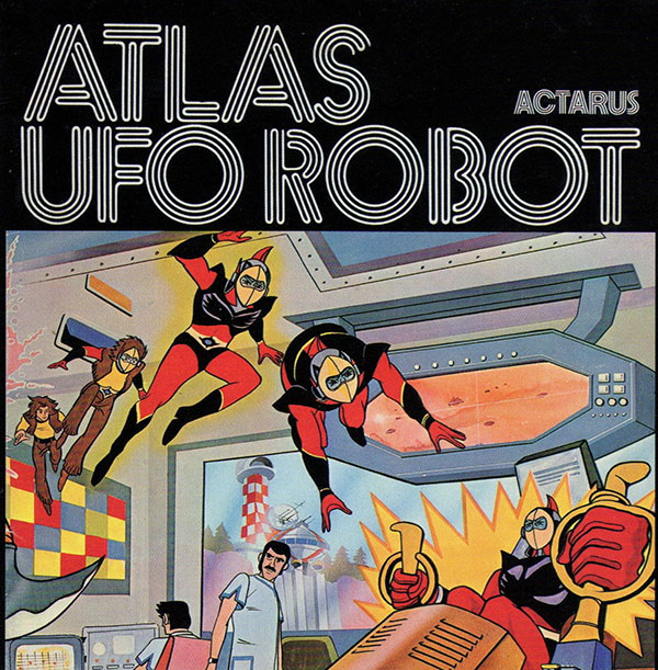 Copertina Vinile 33 giri Atlas UFO Robot di Actarus