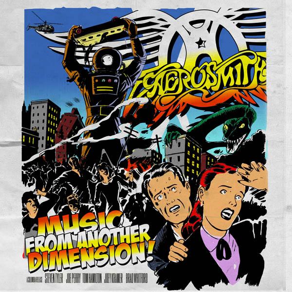 Copertina Disco Vinile 33 giri Music from Another Dimension [2 LP + CD] di Aerosmith
