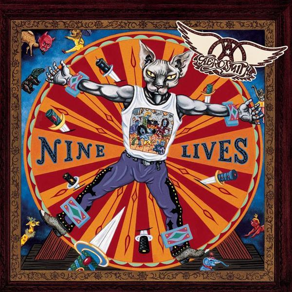 Copertina Disco Vinile 33 giri Nine Lives [2 LP] di Aerosmith