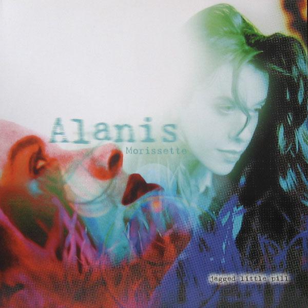 Copertina Disco Vinile 33 giri Jagged Little Pill  di Alanis Morissette