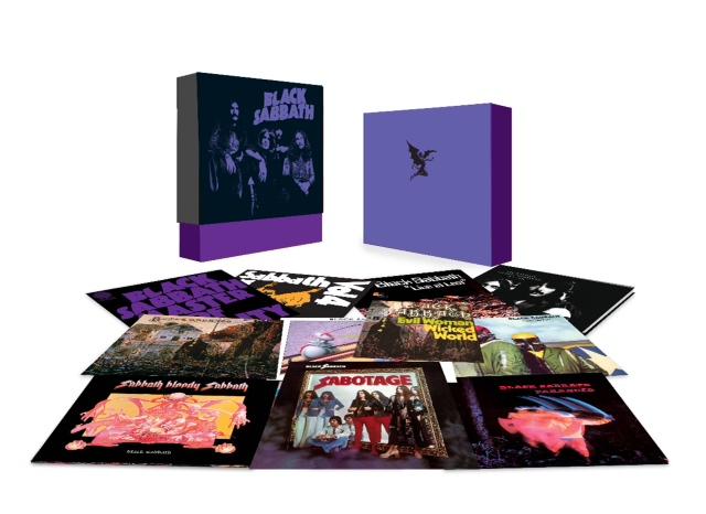 Copertina Disco Vinile 33 giri Black Sabbath