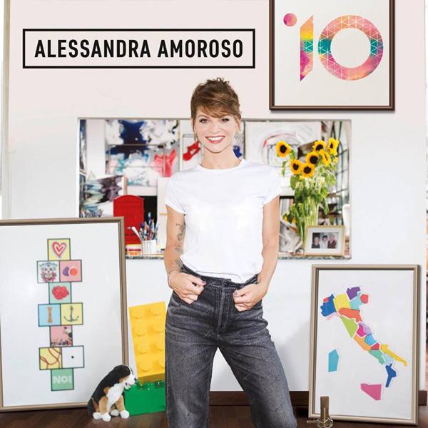 Copertina Vinile 33 giri 10 [2 LP] di Alessandra Amoroso