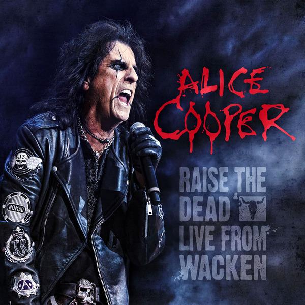 Copertina Disco Vinile 33 giri Raise the Dead: Live from Wacken [3LP + DVD] di Alice Cooper