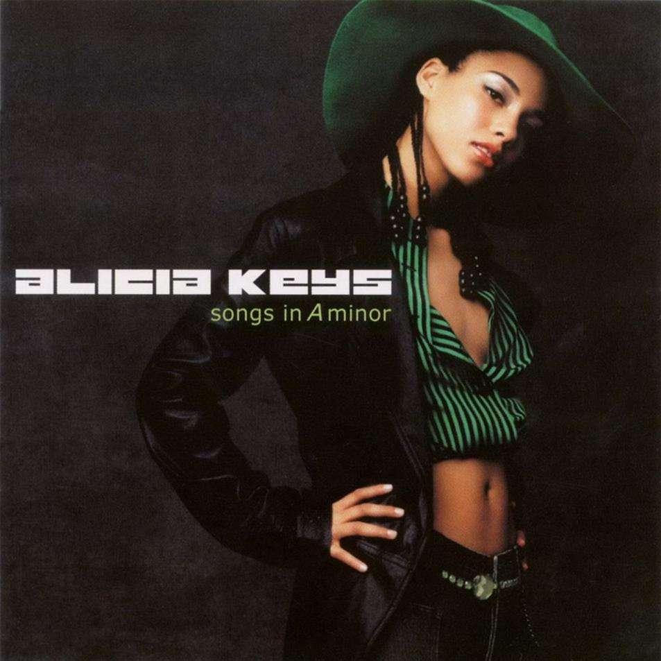 Copertina Disco Vinile 33 giri Songs in A Minor [2 LP] di Alicia Keys
