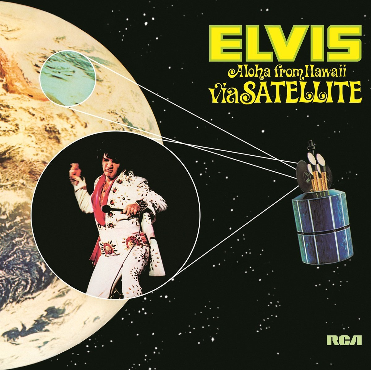 Copertina Disco Vinile 33 giri Aloha From Hawaii Via Satellite [Cofanetto 4xLP] di Elvis Presley