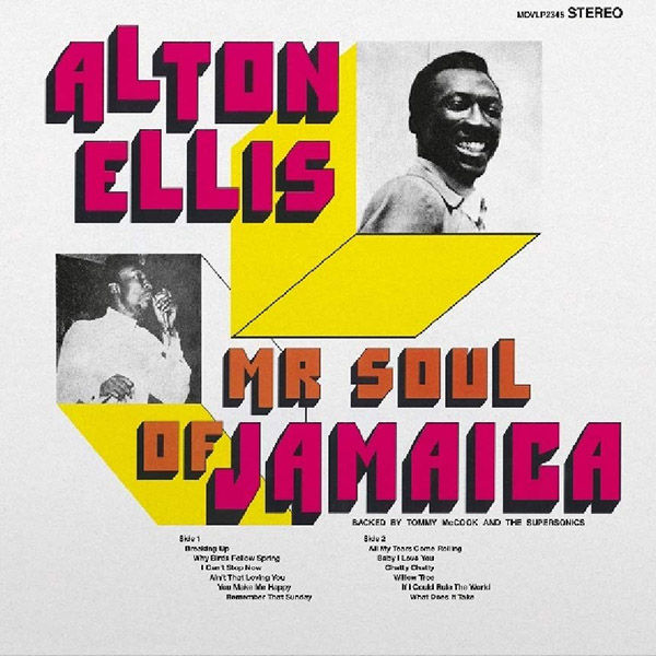 Copertina Vinile 33 giri Mr Soul of Jamaica di Alton Ellis