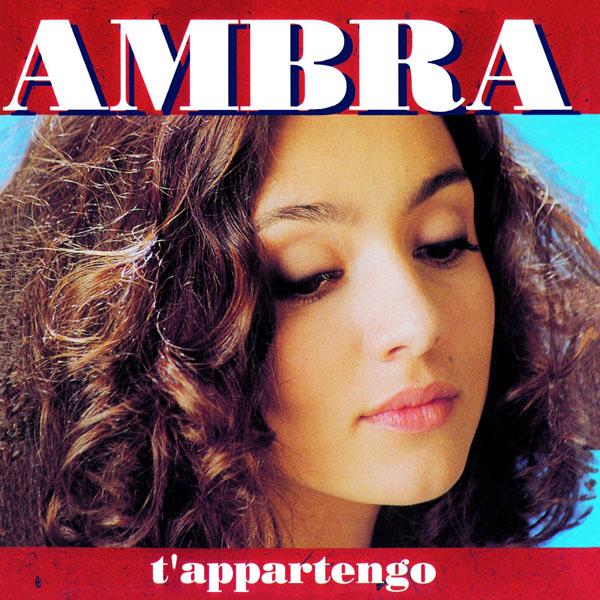 Copertina Disco Vinile 33 giri T'Appartengo di Ambra