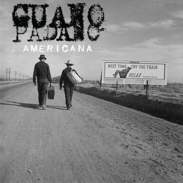 Copertina Disco Vinile 33 giri Americana di Guano Padano