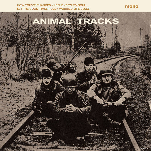 Copertina Disco Vinile 33 giri Animal Tracks di The Animals