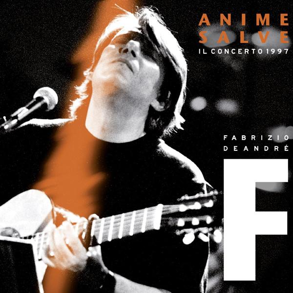 Copertina Disco Vinile 33 giri Anime Salve: Il Concerto 1997 [3 LP] di Fabrizio de Andrè