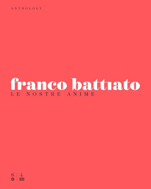 Copertina Disco Vinile 33 giri Anthology - Le Nostre Anime [Cofanetto 6CD+4DVD] di Franco Battiato