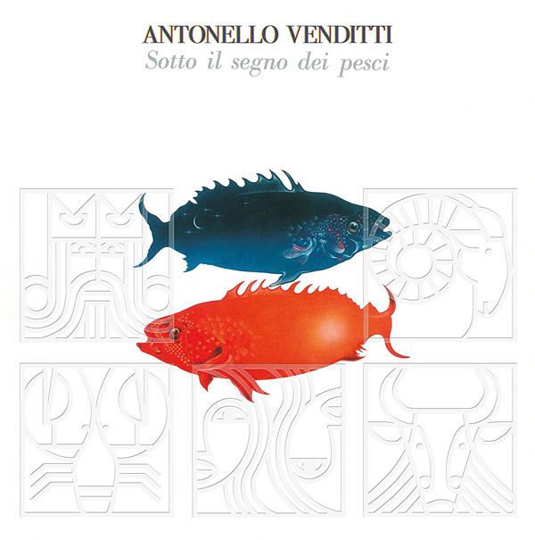 Copertina Vinile 33 giri Sotto il segno dei Pesci di Antonello Venditti