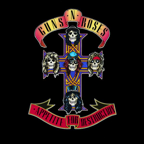 Copertina Disco Vinile 33 giri Appetite For Destruction di Guns'N'Roses