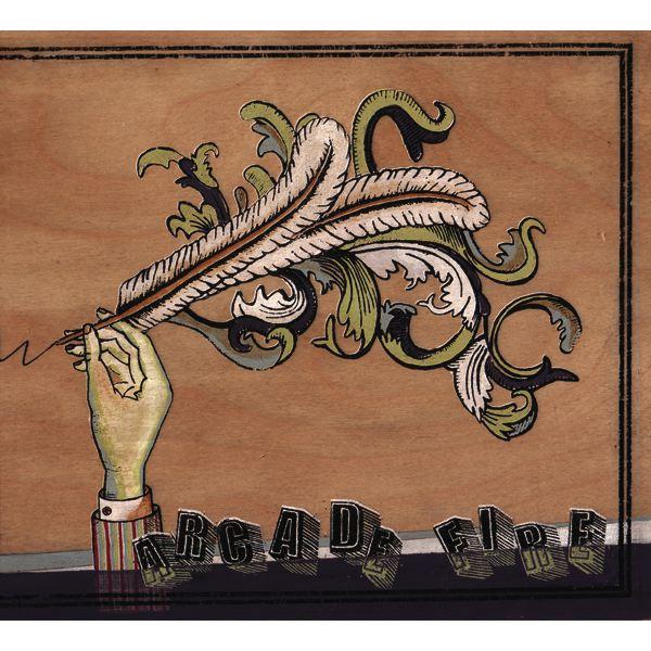 Copertina Vinile 33 giri Funeral di Arcade Fire