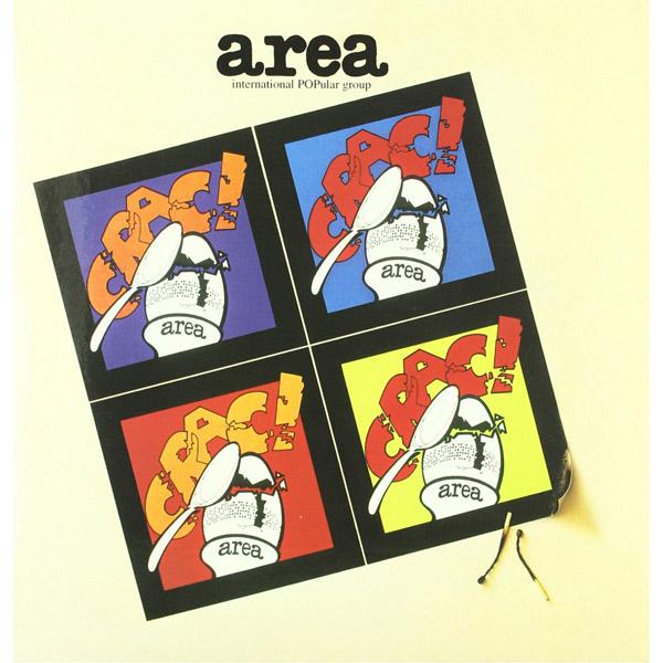 Copertina Disco Vinile 33 giri Crac! [Rock-Progressive Italiano] di Area