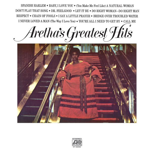 Copertina Disco Vinile 33 giri Aretha's Greatest Hits di Aretha Franklin