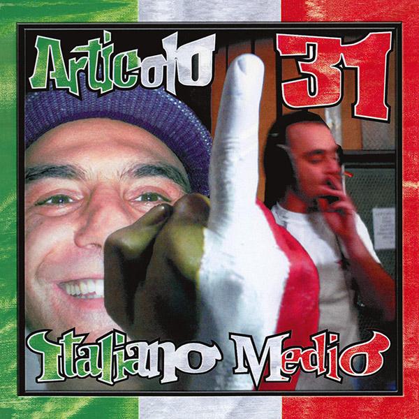 Copertina Vinile 33 giri Italiano Medio [2 LP] di Articolo 31
