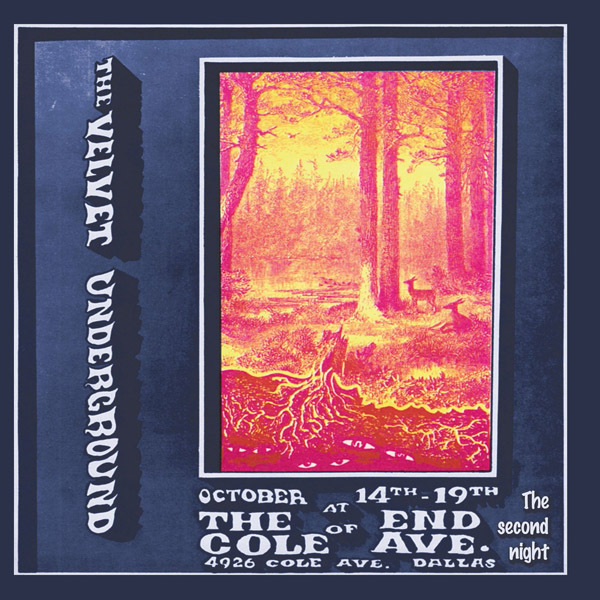Copertina Disco Vinile 33 giri Live at the End of Cole Ave: The Second Night [2 LP] di The Velvet Underground
