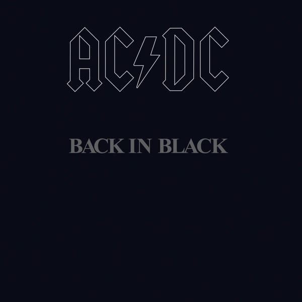 Copertina Disco Vinile 33 giri Back in Black di AC/DC