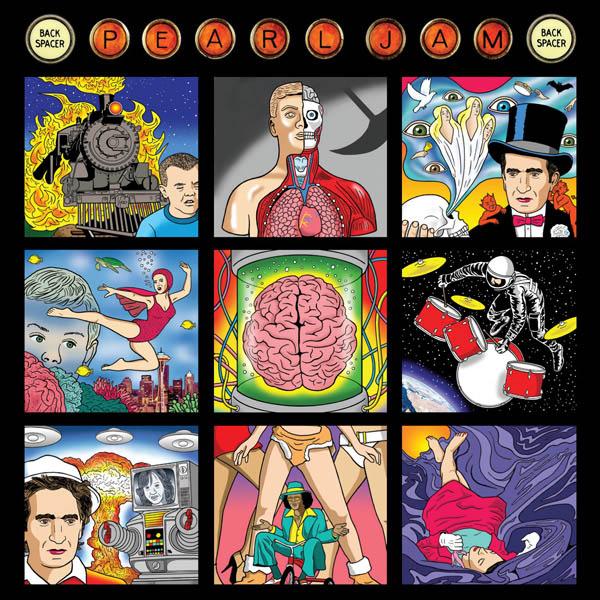 Copertina Disco Vinile 33 giri Backspacer di Pearl Jam