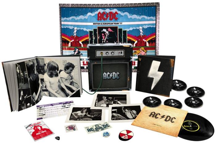 Copertina Disco Vinile 33 giri Backtracks Deluxe [Cofanetto con Amplificatore] di AC/DC