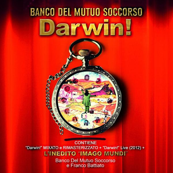 Copertina Disco Vinile 33 giri Darwin! [3 LP] di Banco Del Mutuo Soccorso
