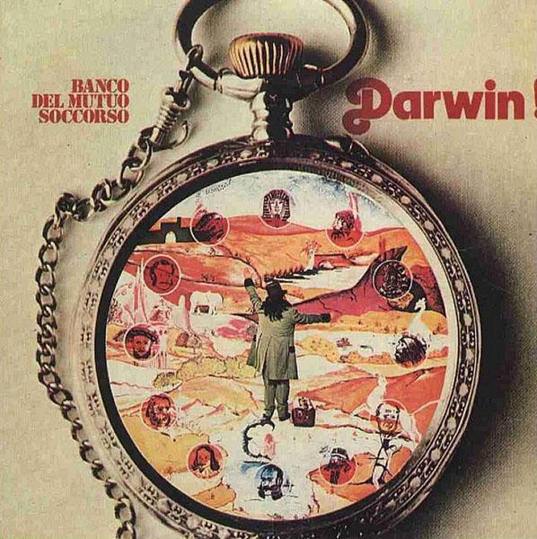 Copertina Disco Vinile 33 giri Darwin!  di Banco Del Mutuo Soccorso