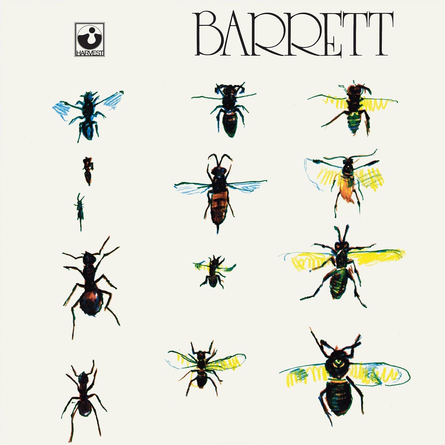 Copertina Disco Vinile 33 giri Barret di Syd Barrett