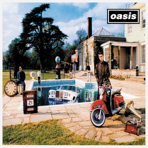 Copertina Disco Vinile 33 giri Be Here Now [2 LP] di Oasis