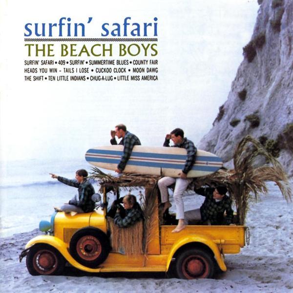 Copertina Disco Vinile 33 giri Surfin' Safari di The Beach Boys