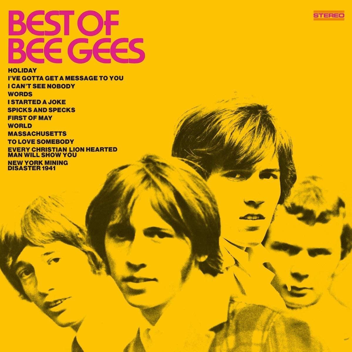 Copertina Vinile 33 giri Best Of Bee Gees di Bee Gees
